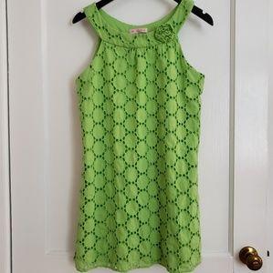 Blush medium (girls) green dress